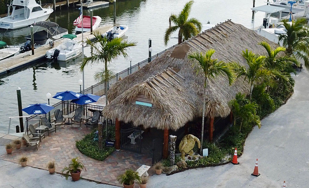 tiki hut bay pines