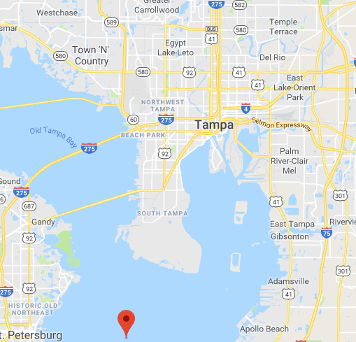 tampa bay map